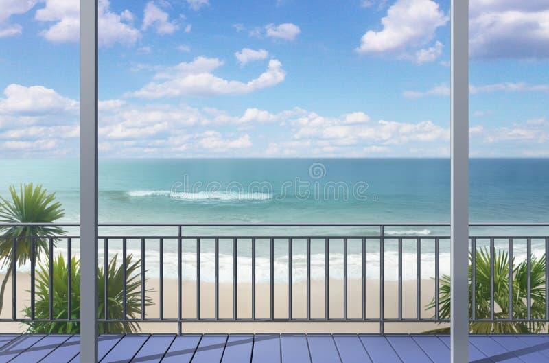 Αεράκι Southsea απεικόνιση αποθεμάτων