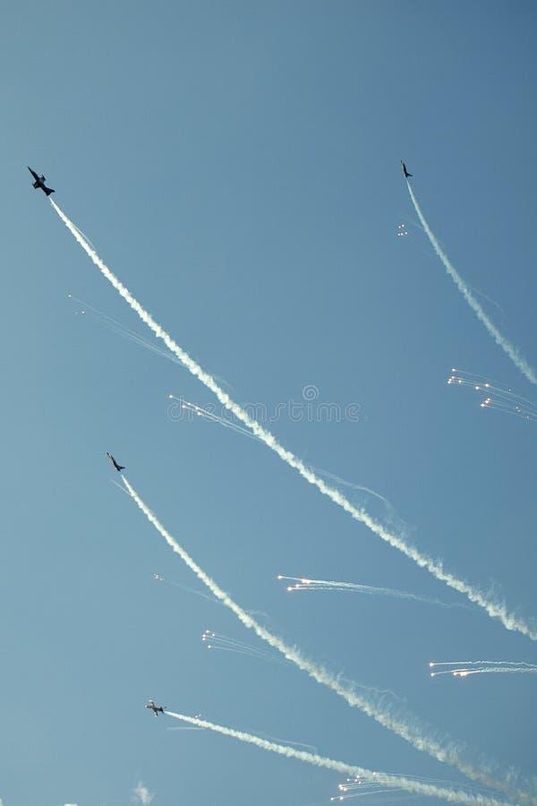 Αεριωθούμενη ομάδα Breitling στοκ εικόνα με δικαίωμα ελεύθερης χρήσης