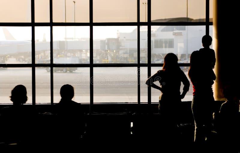 αεριωθούμενο αεροπλάνο αναχώρησης στοκ φωτογραφίες με δικαίωμα ελεύθερης χρήσης