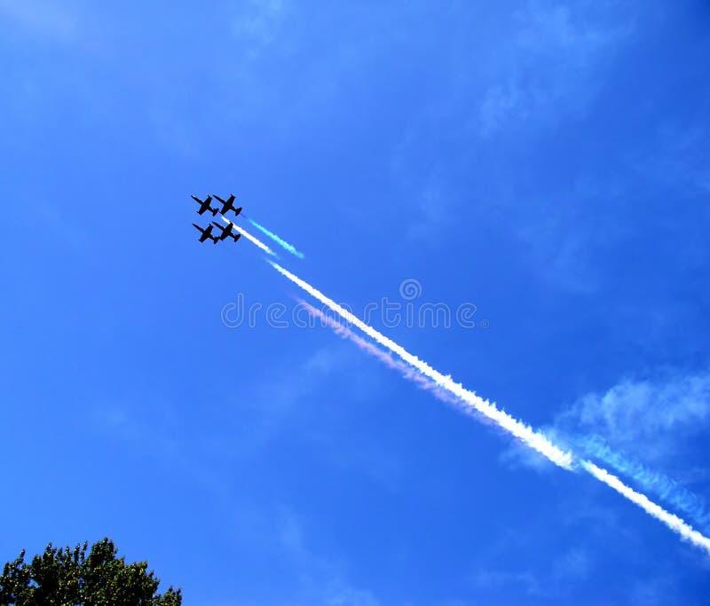 αεριωθούμενο αεροπλάνο μαχητών στοκ φωτογραφίες με δικαίωμα ελεύθερης χρήσης