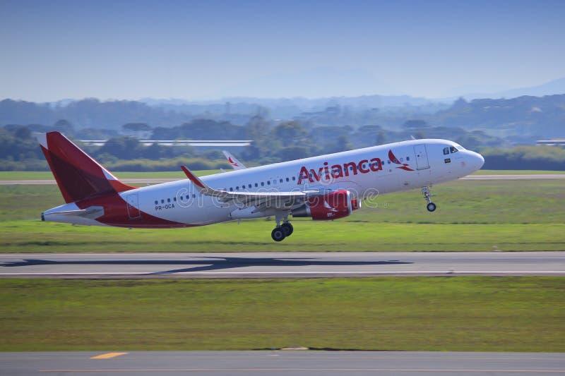 Αερογραμμές Avianca στοκ εικόνα