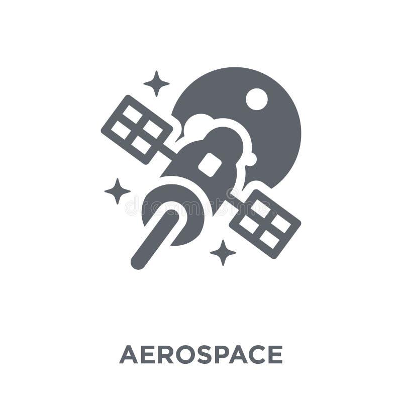 αεροδιαστημικό εικονίδιο από τη συλλογή αστρονομίας ελεύθερη απεικόνιση δικαιώματος