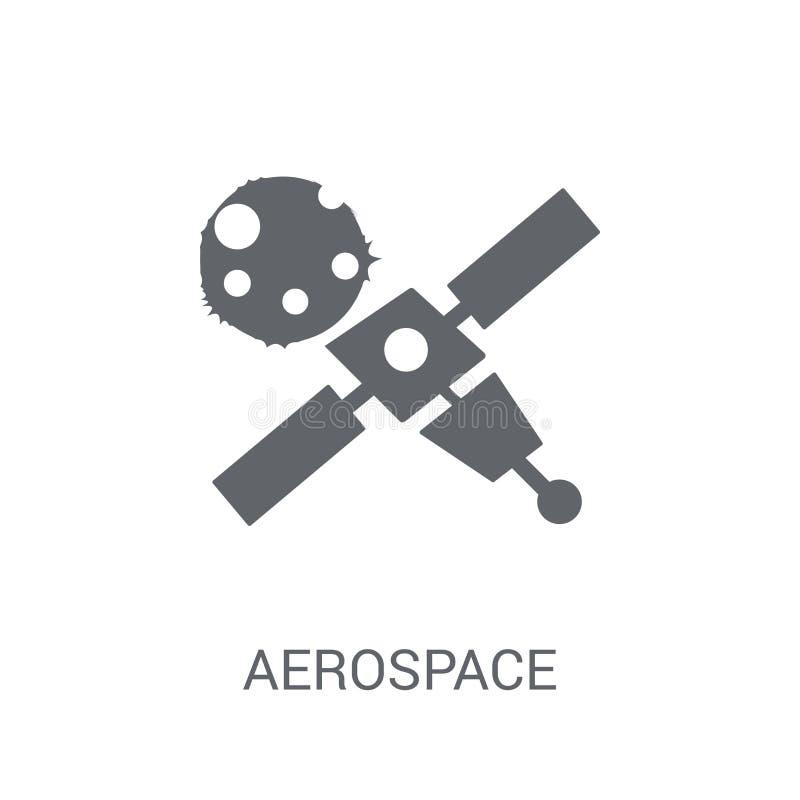 αεροδιαστημικό εικονίδιο  διανυσματική απεικόνιση