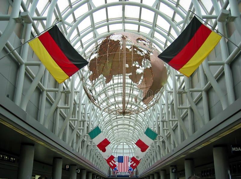 αερολιμένας Σικάγο στοκ εικόνες
