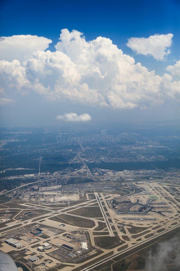 αερολιμένας Σικάγο ohare στοκ φωτογραφία