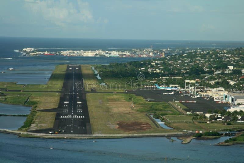 αερολιμένας Ταϊτή στοκ εικόνες με δικαίωμα ελεύθερης χρήσης