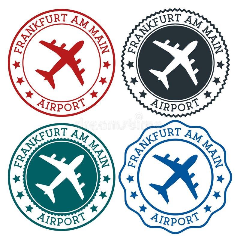 Αερολιμένας της Φρανκφούρτης Αμ Μάιν ελεύθερη απεικόνιση δικαιώματος