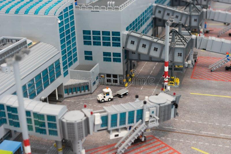 Αερολιμένας Lego στοκ φωτογραφία με δικαίωμα ελεύθερης χρήσης