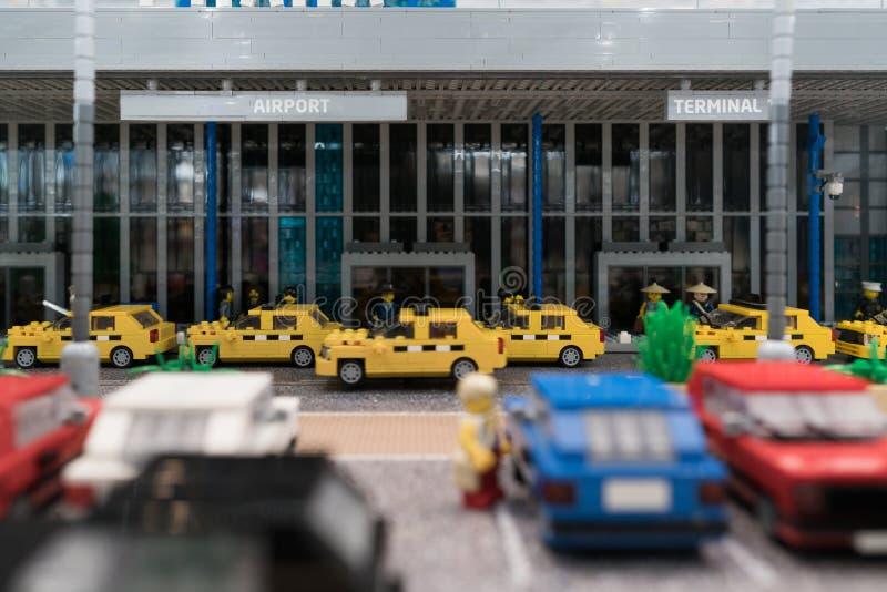 Αερολιμένας Lego στοκ φωτογραφίες με δικαίωμα ελεύθερης χρήσης