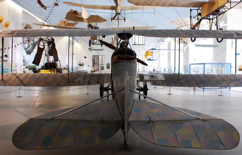 Αεροπλάνα στο μουσείο του Μόναχου Deutsches στοκ εικόνες