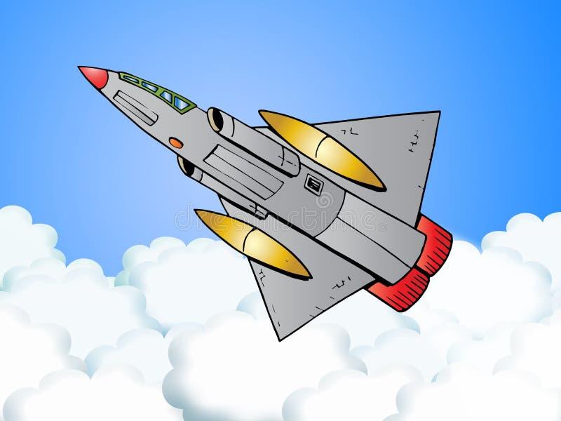 αεροπλάνο ελιγμού πολ&epsilo απεικόνιση αποθεμάτων