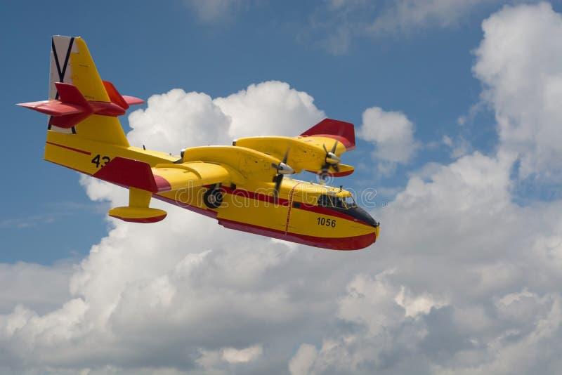 Αεροπλάνο πυροσβεστών στοκ φωτογραφίες