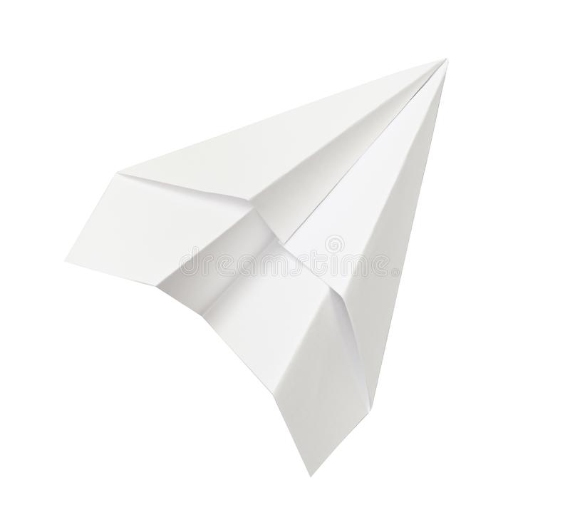 Αεροπλάνο της Λευκής Βίβλου στοκ εικόνες με δικαίωμα ελεύθερης χρήσης