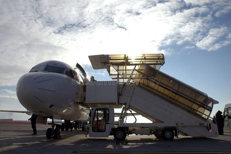 αεροπλάνο 11 αερολιμένων στοκ φωτογραφίες με δικαίωμα ελεύθερης χρήσης