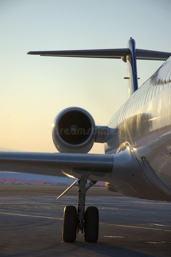 αεροπλάνο 14 αερολιμένων στοκ εικόνες