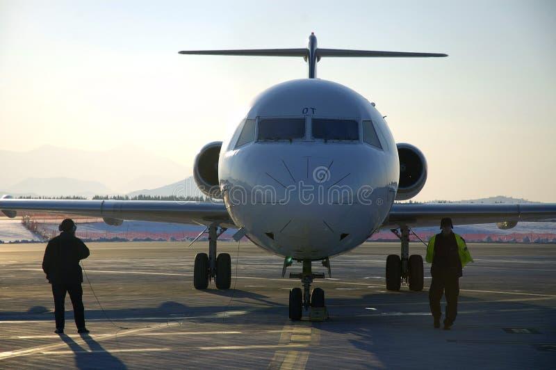 αεροπλάνο 15 αερολιμένων στοκ φωτογραφία με δικαίωμα ελεύθερης χρήσης