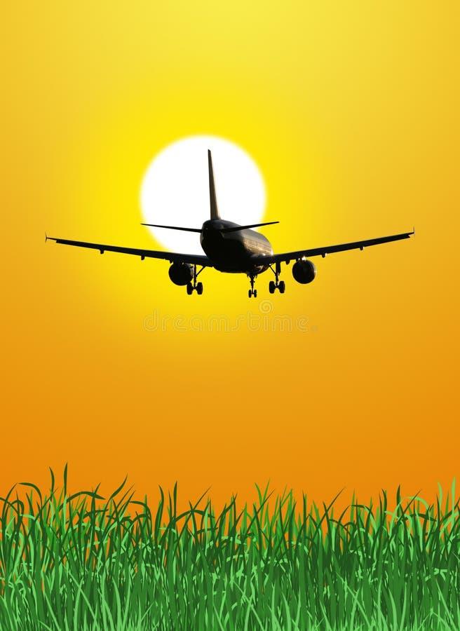 Download αεροπλάνο στοκ εικόνες. εικόνα από μεταφορά, πτήση, έννοια - 17053796