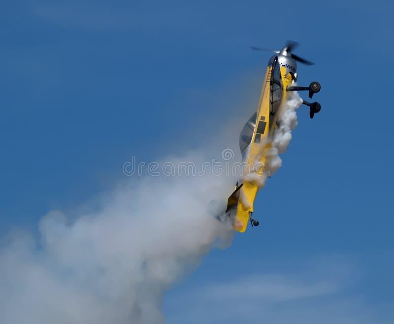 Αεροπλάνο Aerobatic στοκ εικόνες