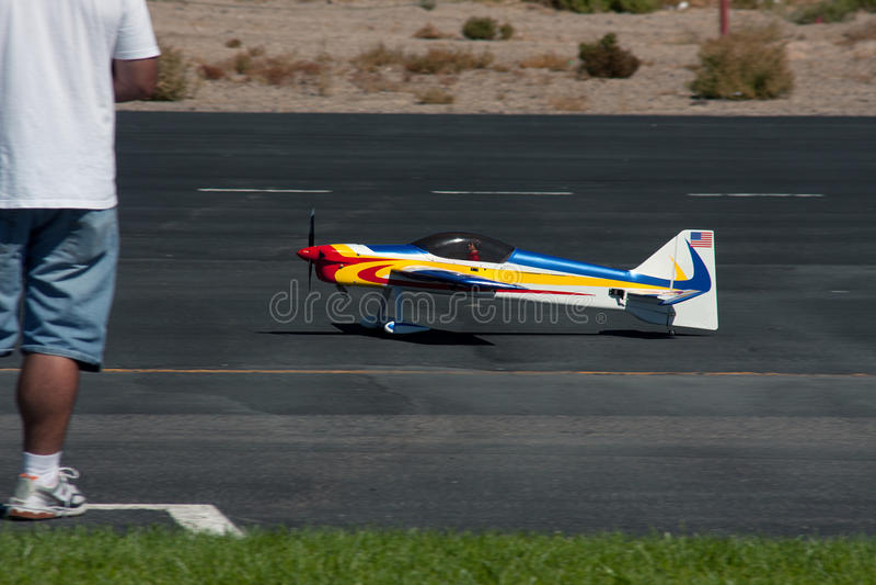 αεροπλάνο rc στοκ εικόνα