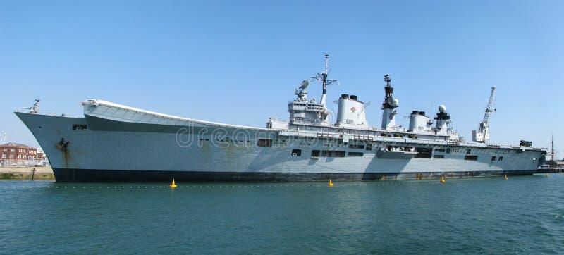 Αεροπλανοφόρο HMS επιφανές στοκ φωτογραφία