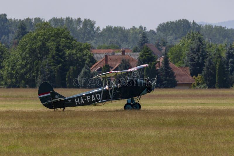 Αεροπορική επίδειξη Dunakeszi Ουγγαρία στοκ εικόνα με δικαίωμα ελεύθερης χρήσης