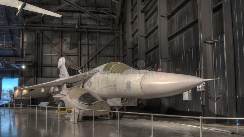 Αεροπλάνα στο μουσείο USAF, Νταίυτον, Οχάιο στοκ εικόνα με δικαίωμα ελεύθερης χρήσης