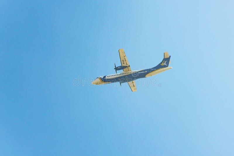 Αεροπλάνο αέρα του Βούδα, Νεπάλ στοκ εικόνα