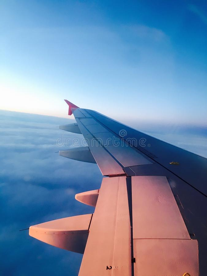 Αεροπλάνο πτήσης στοκ φωτογραφίες