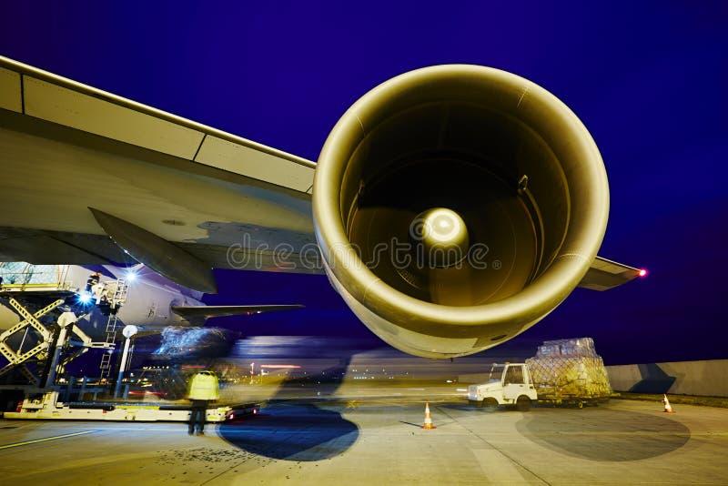 Αεροπλάνο φορτίου στοκ φωτογραφία