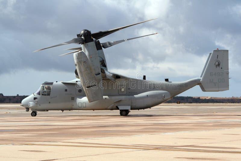 Αεροπλάνο Osprey στοκ φωτογραφία με δικαίωμα ελεύθερης χρήσης