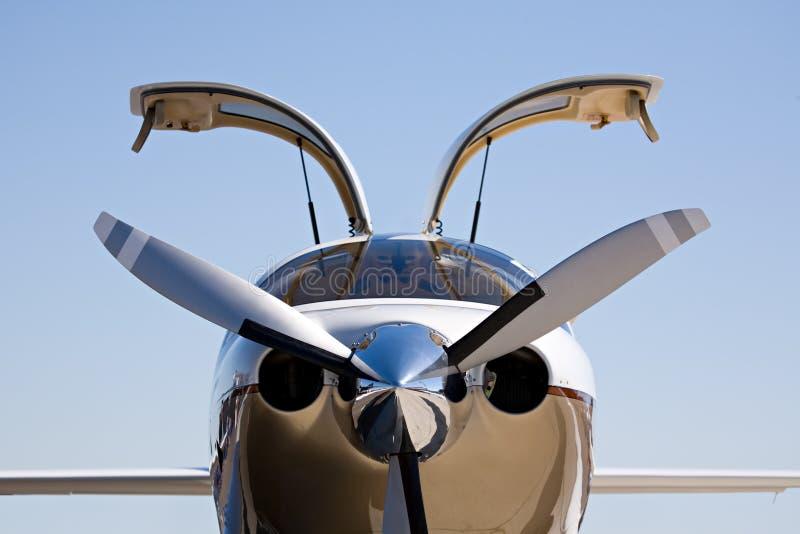 αεροσκάφη ιδιωτικά στοκ εικόνες