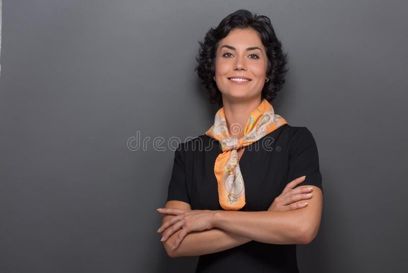 αεροσυνοδός στοκ εικόνα με δικαίωμα ελεύθερης χρήσης