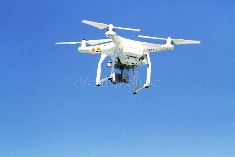 Αεροφωτογραφία από την κίνηση κηφήνων στον αέρα στην κίνηση στοκ εικόνες