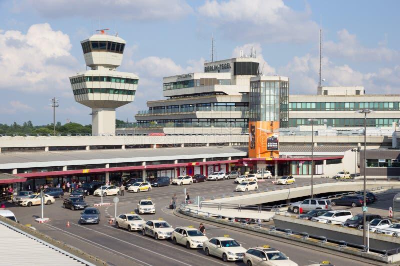 Αερολιμένας του Βερολίνου Tegel στοκ φωτογραφίες με δικαίωμα ελεύθερης χρήσης