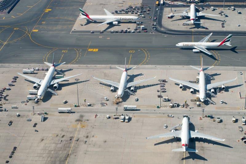 Αερολιμένας του Ντουμπάι στοκ εικόνες