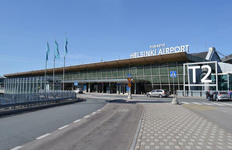 Αερολιμένας Φινλανδία του Ελσίνκι Βάνταα στοκ φωτογραφία