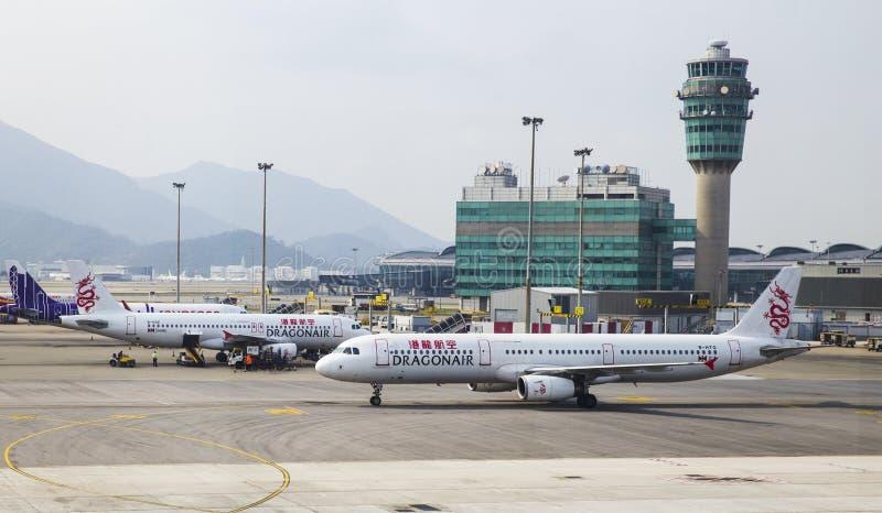 αερολιμένας Χογκ Κογκ στοκ φωτογραφία
