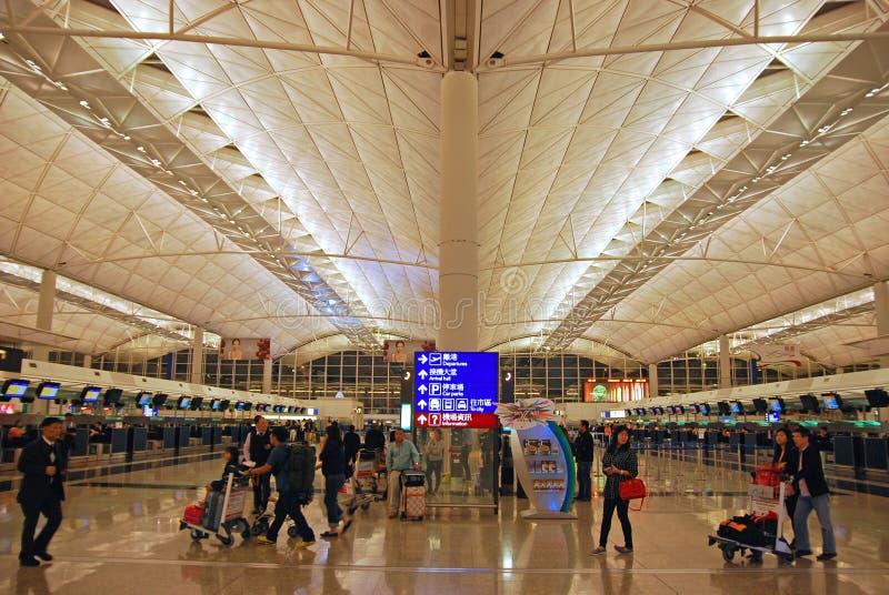 Αερολιμένας Χονγκ Κονγκ στοκ φωτογραφία με δικαίωμα ελεύθερης χρήσης