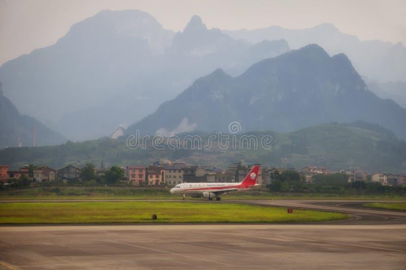 Αερολιμένας Zhangjiajie στοκ εικόνες