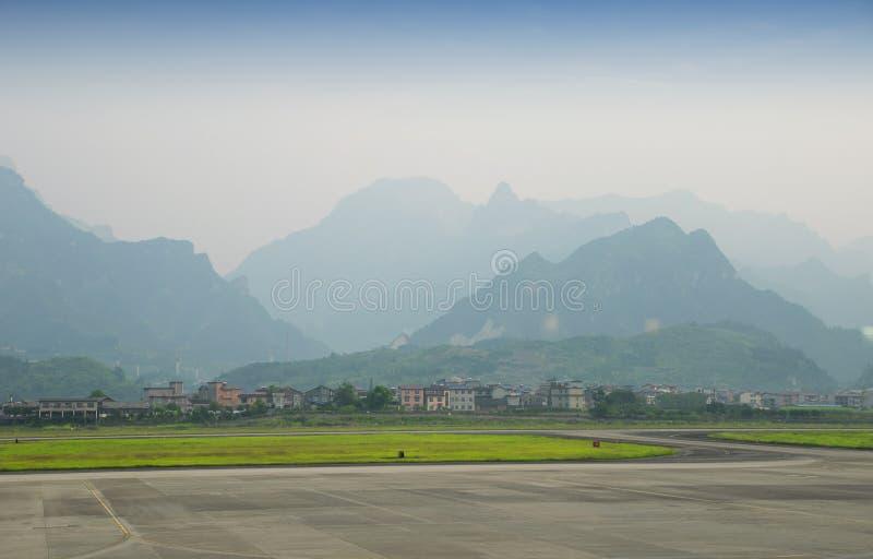 Αερολιμένας Zhangjiajie στοκ φωτογραφία με δικαίωμα ελεύθερης χρήσης