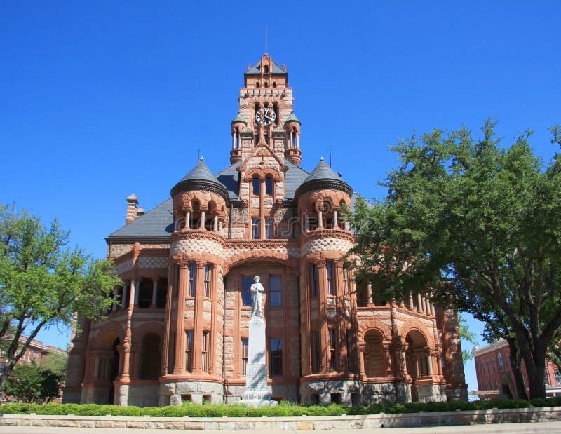 αετός ιστορικό Τέξας δικαστηρίων οικοδόμησης στοκ εικόνες με δικαίωμα ελεύθερης χρήσης