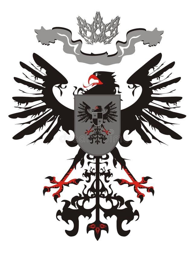 αετός κορωνών εραλδικός ελεύθερη απεικόνιση δικαιώματος