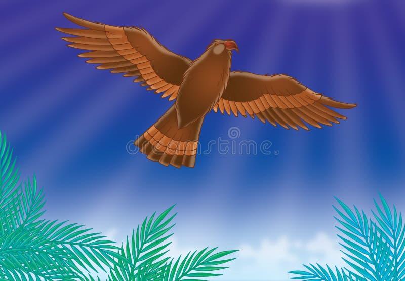αετός διανυσματική απεικόνιση