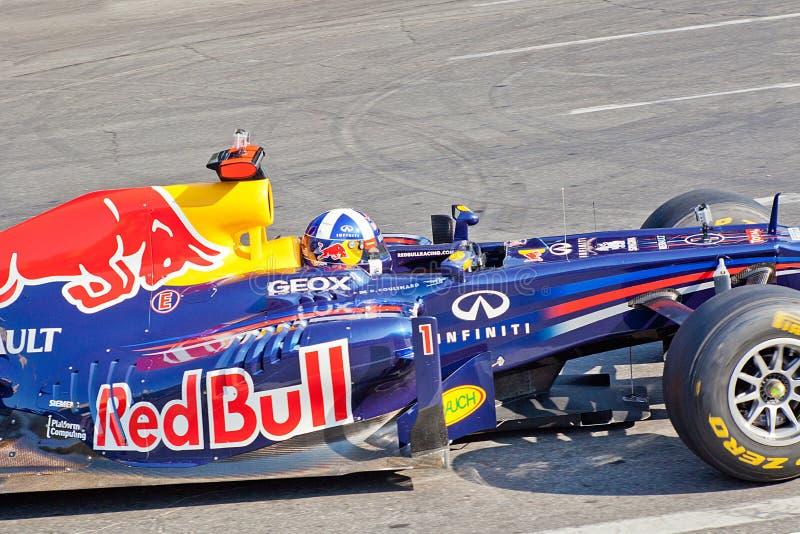 ΑΖΕΡΜΠΑΪΤΖΑΝ, ΜΠΑΚΟΎ - ΣΤΙΣ 17 ΙΟΥΝΊΟΥ: Ο Δαβίδ Coulthard οδηγεί RB7 του κοκκίνου στοκ εικόνα με δικαίωμα ελεύθερης χρήσης