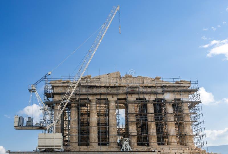 Αθήνα parthenon στοκ φωτογραφία με δικαίωμα ελεύθερης χρήσης