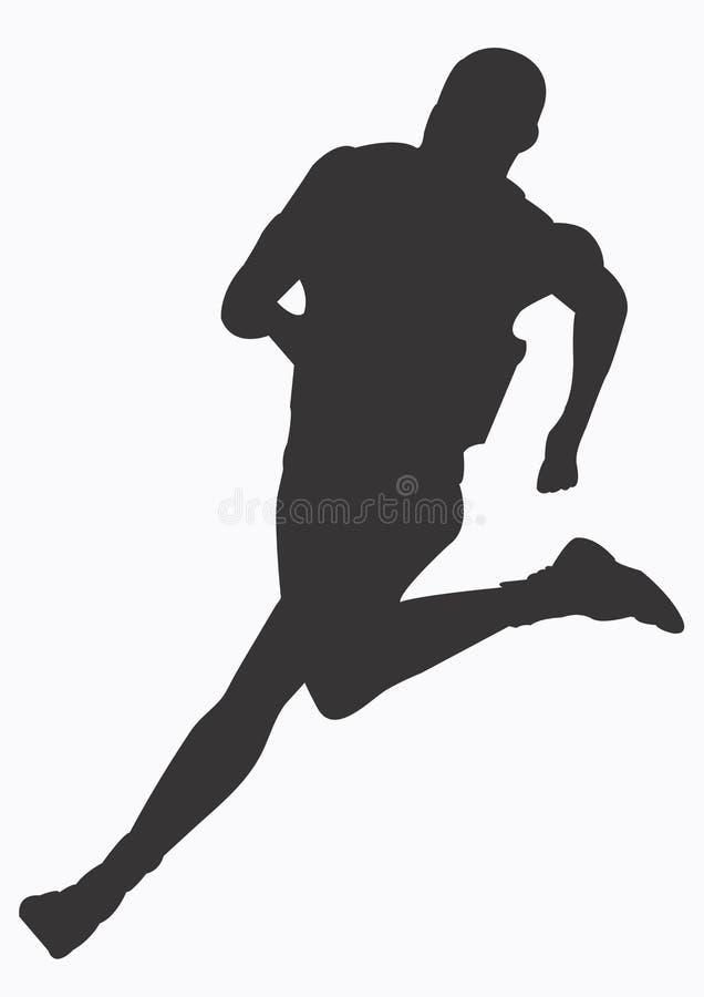αθλητής απεικόνιση αποθεμάτων