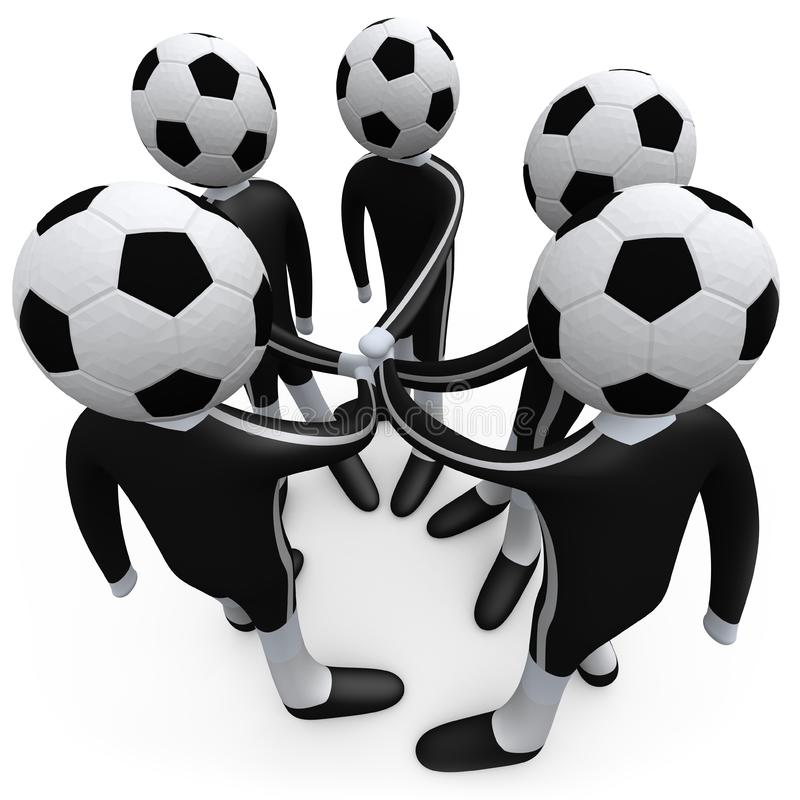 αθλητική ομάδα ελεύθερη απεικόνιση δικαιώματος