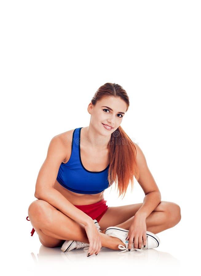 αθλητική όμορφη γυναίκα στοκ φωτογραφίες με δικαίωμα ελεύθερης χρήσης