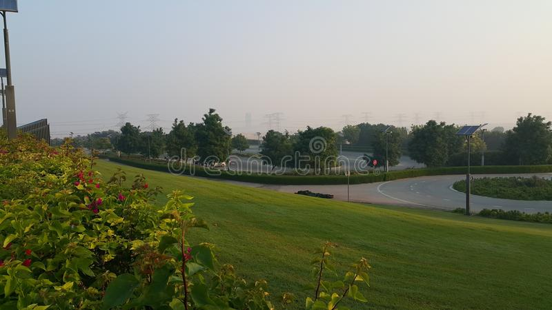 Αθλητικός σύνθετος κήπος Hamdan Shiekh στοκ εικόνες