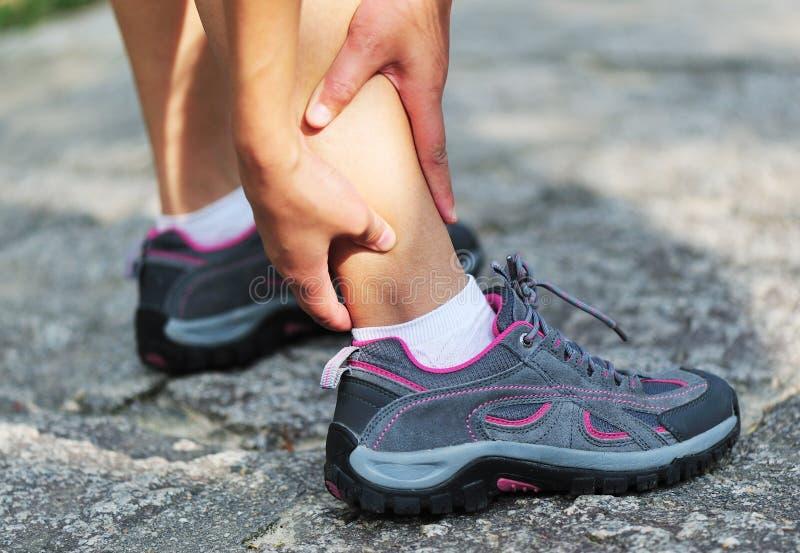 Αθλητικός τραυματισμός στοκ εικόνες
